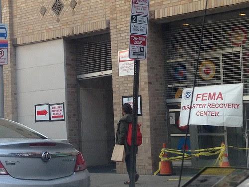FEMA Recovery, Jersey City
