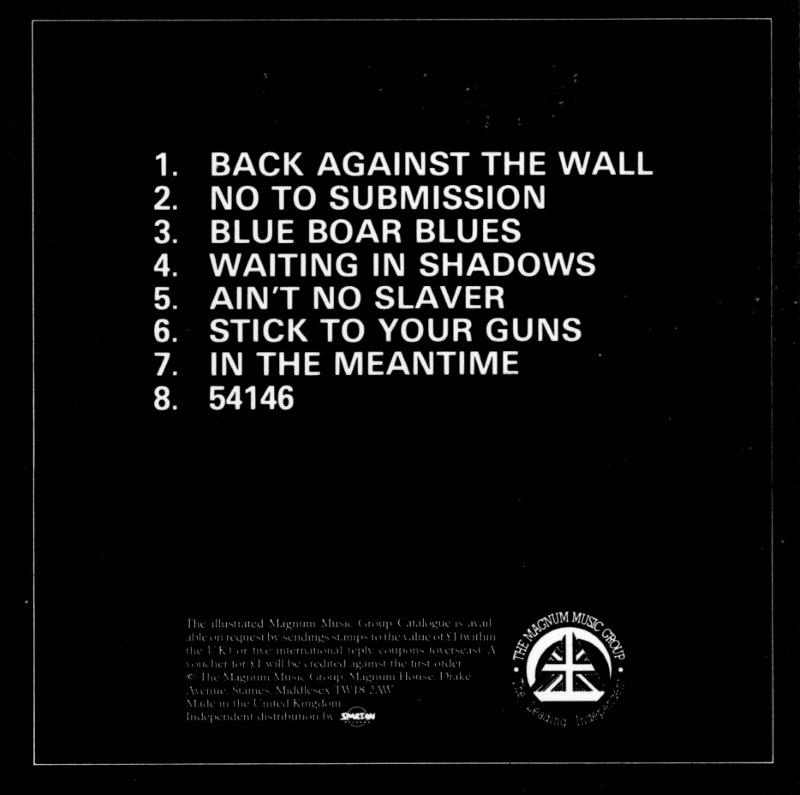 Cd Album Groundhogs Back Against The Wall The Cd Label Uk