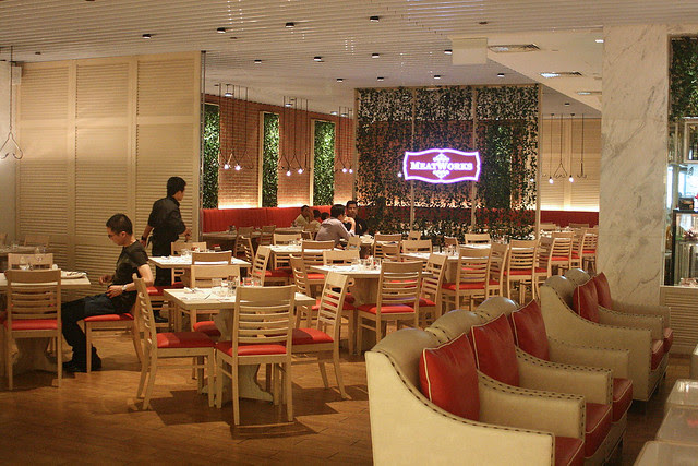 Meatworks is up on the 4th floor of ION Orchard