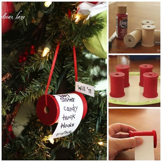 How To Make Christmas Wishlist Ornaments