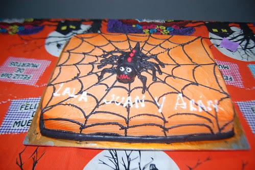 pastel araña