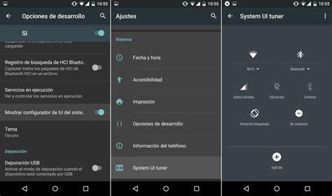 android  permitira personalizar los ajustes rapidos
