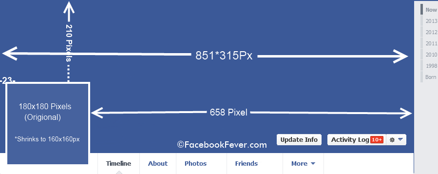 facebook cover page size - 899×357