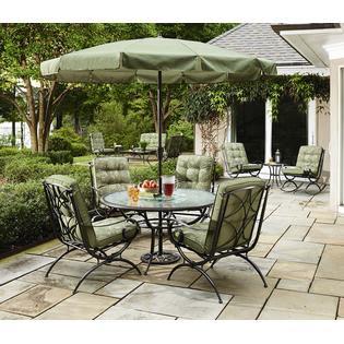 Jaclyn Smith Cora Patio Umbrella 9ft - Outdoor Living ...