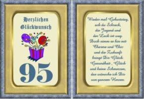 Geburtstagsgluckwunsche zum 95 geburtstag
