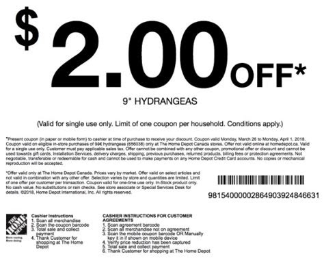 home depot coupons   daily coupons