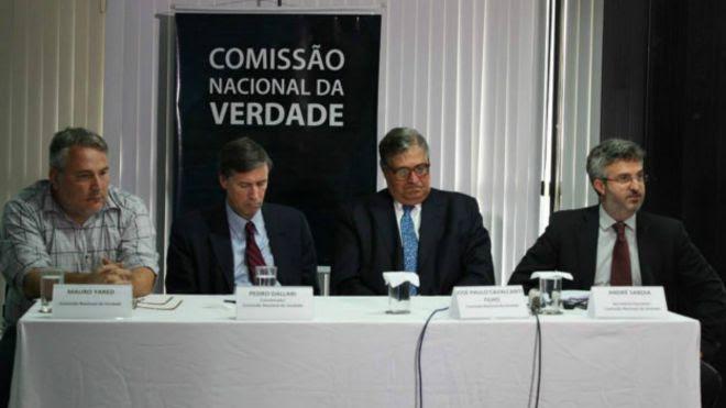 Membros da Comissão da Verdade (Foto: Fabrício Faria / ASCOM - CNV)