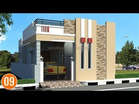 indian single floor house elevation images simple
