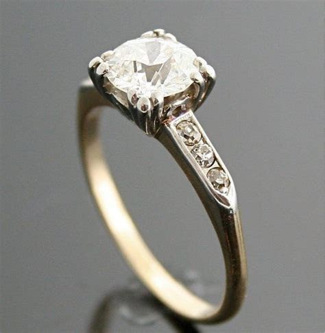 1940s Engagement Ring   Engagement Rings in 2019   Vintage
