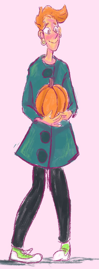 sketched a lars