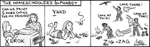 Home Spun comic strip #520