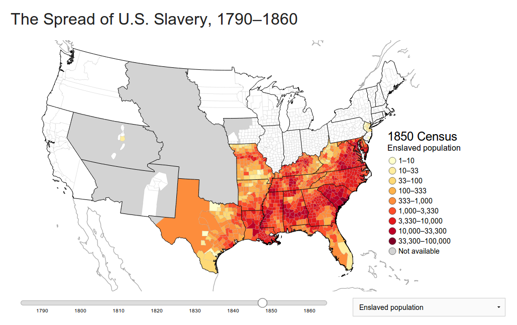 an overview of slavery in the southern states of united states