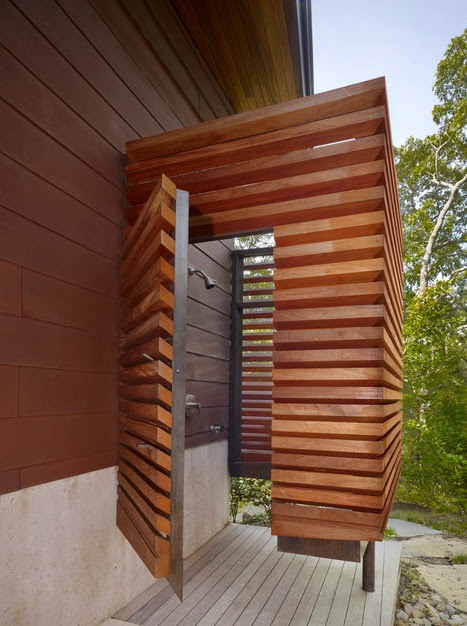 21 Wonderful Outdoor Shower and Bathroom Design Ideas ...