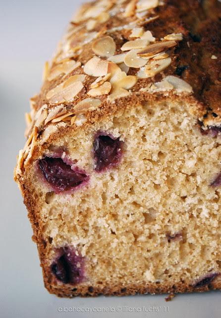 Cherry almond bread