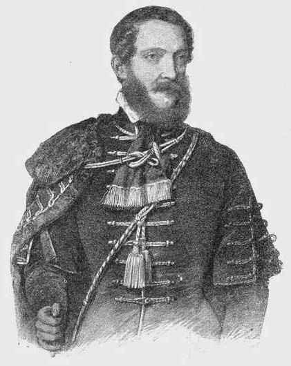 Barabás Miklós litográfiája Kossuth Lajosról                1847-ből