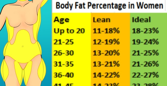 body fat percentage scale accurate