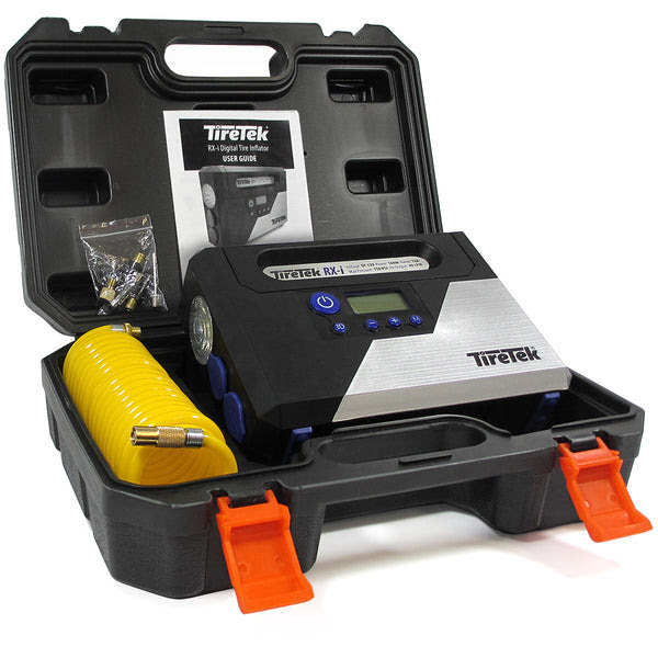 Tiretek Rx I Digital Car Tire Inflator Air Pump 12v