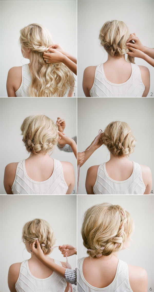 halo braid tutorial  hairstyles  for long  hair  Once Wed