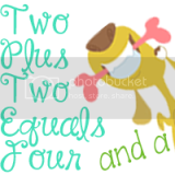Two Plus Two Equals Four and a Pup