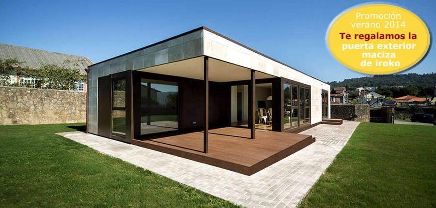 Casas de madera prefabricadas casas prefabricadas en girona - Casas prefabricadas girona ...