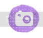 social media buttons photo: purple instagram polkadotpurple_08_zpsa2d588b6.png