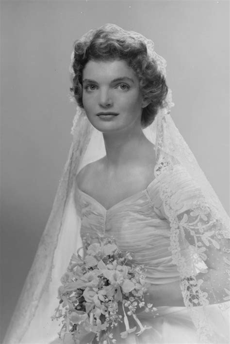 Jacqueline Bouvier Kennedy's Wedding Dress and Veil