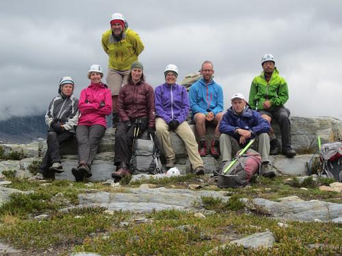 On Mt. Abbott summit