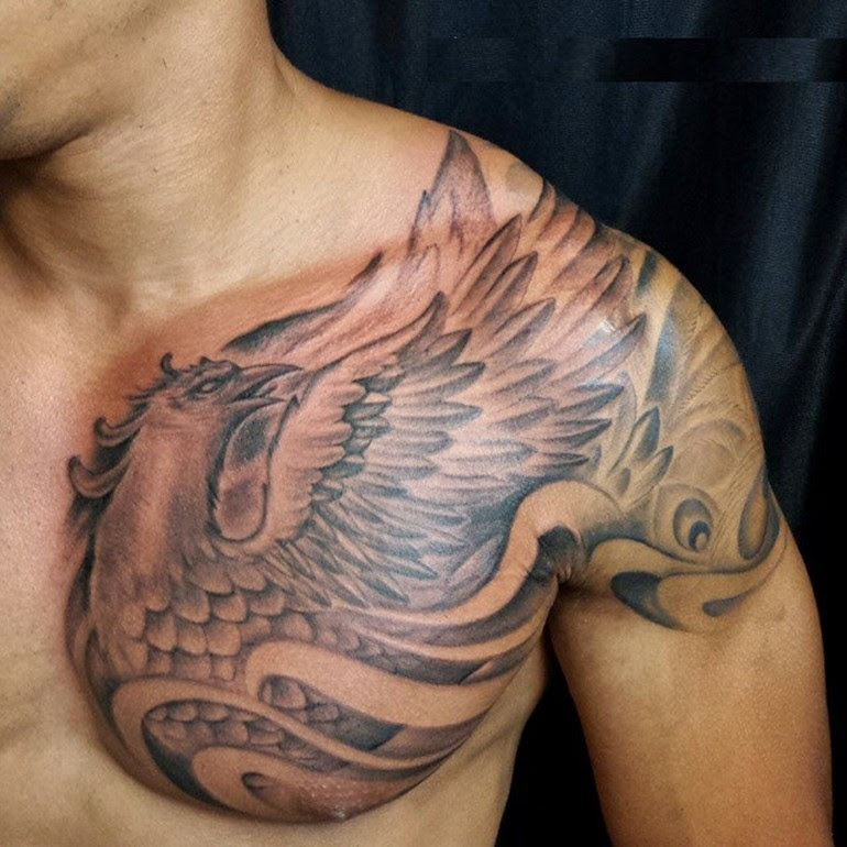 60 Incredible Phoenix Tattoo Designs You Need To See