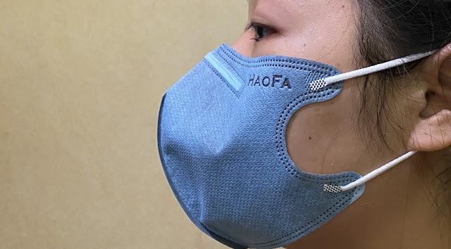 【Haofa  N95 口罩】香港網店現貨發售 黑/白色、大人/小童尺寸