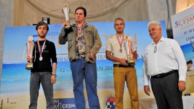 Uluslararası Çeşme Open Satranç Turnuvası sona erdi