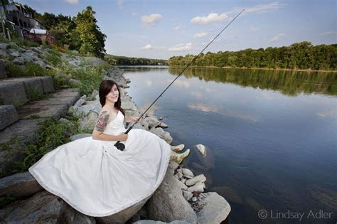 Probably gonna need a picture of me in my wedding dress