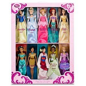 Disney Princess Film Collection Doll Set