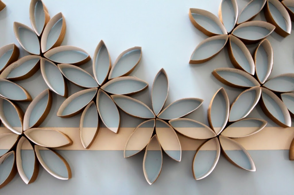 Flower Wall Art DIY | Paper & Stitch