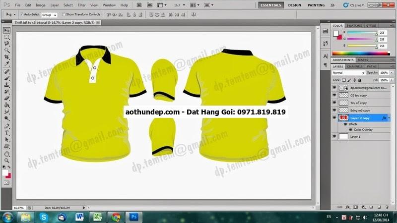 phần mềm thiết kế áo online