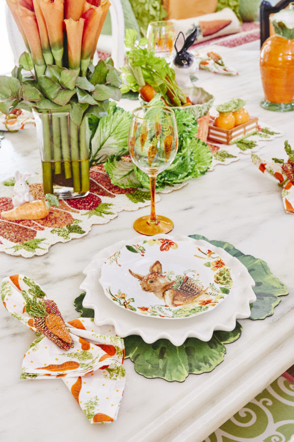 Easter, Easter decor, Easter bunny, Easter dinnerware