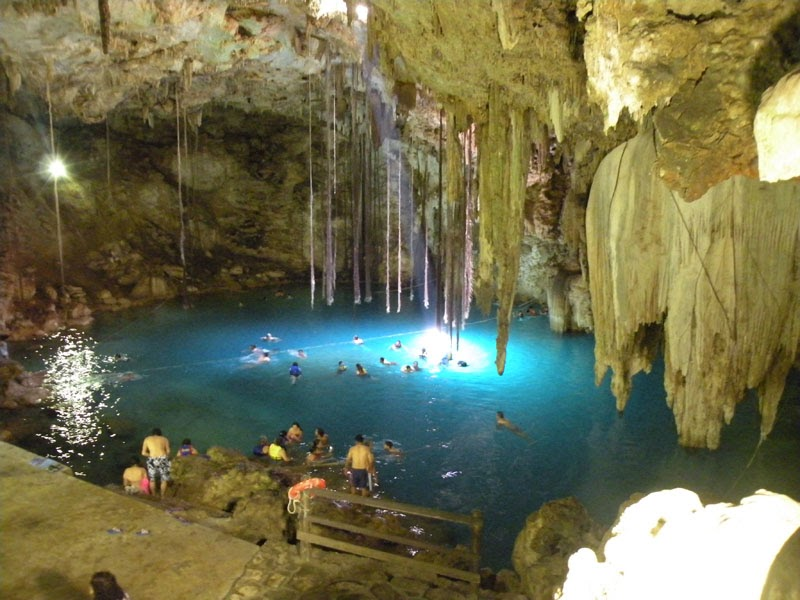 Car To Go >> Real Mayan Riviera: Cenote Dzitnup, Valladolid