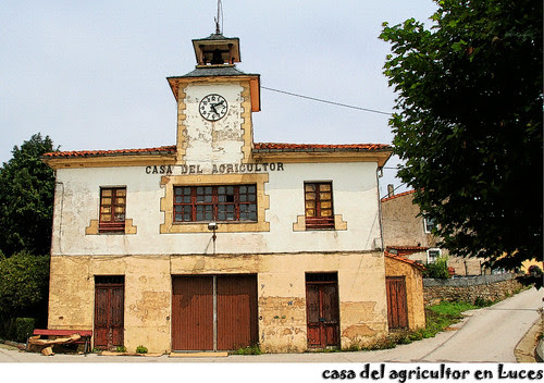 Casa del Agricultor en Luces, Colunga, Asturias