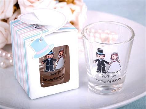 Presenting Your Guests with Personalized Shot Glasses for