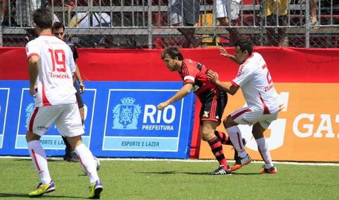Petkovic América Flamengo futebol 7 (Foto: Davi Pereira/Jornal F7.com)