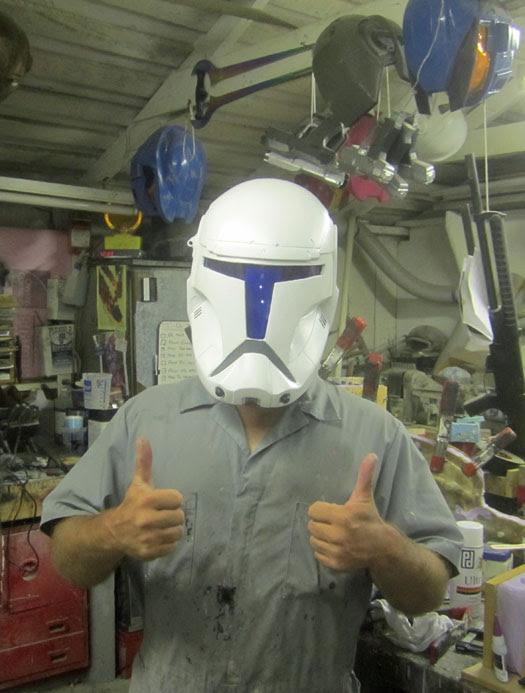 RC Helmet Front