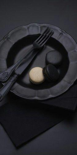 black in flat