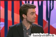 Daniel Radcliffe on Centralnoe Televidenie and Projektorperishilton