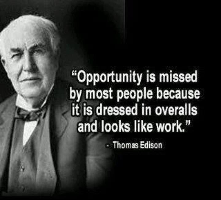 Image result for Thomas Edison quote
