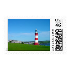 Smeaton's Tower, The Hoe, Plymouth stamp