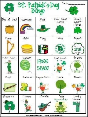 Everything you need to create St. Patrick