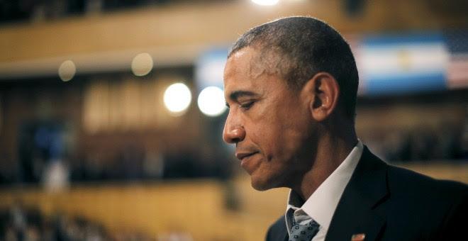 El presidente de EEUU, Barack Obama, en su visita a Buenos Aires.- REUTERS/Carlos Barria