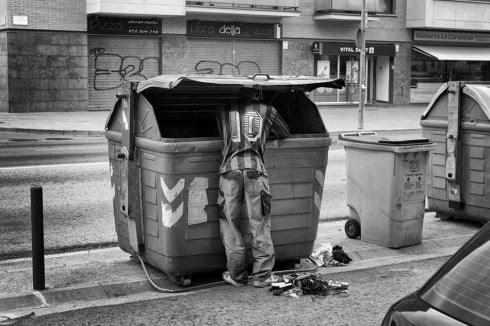 Fotos de la pobreza en España por la crisis