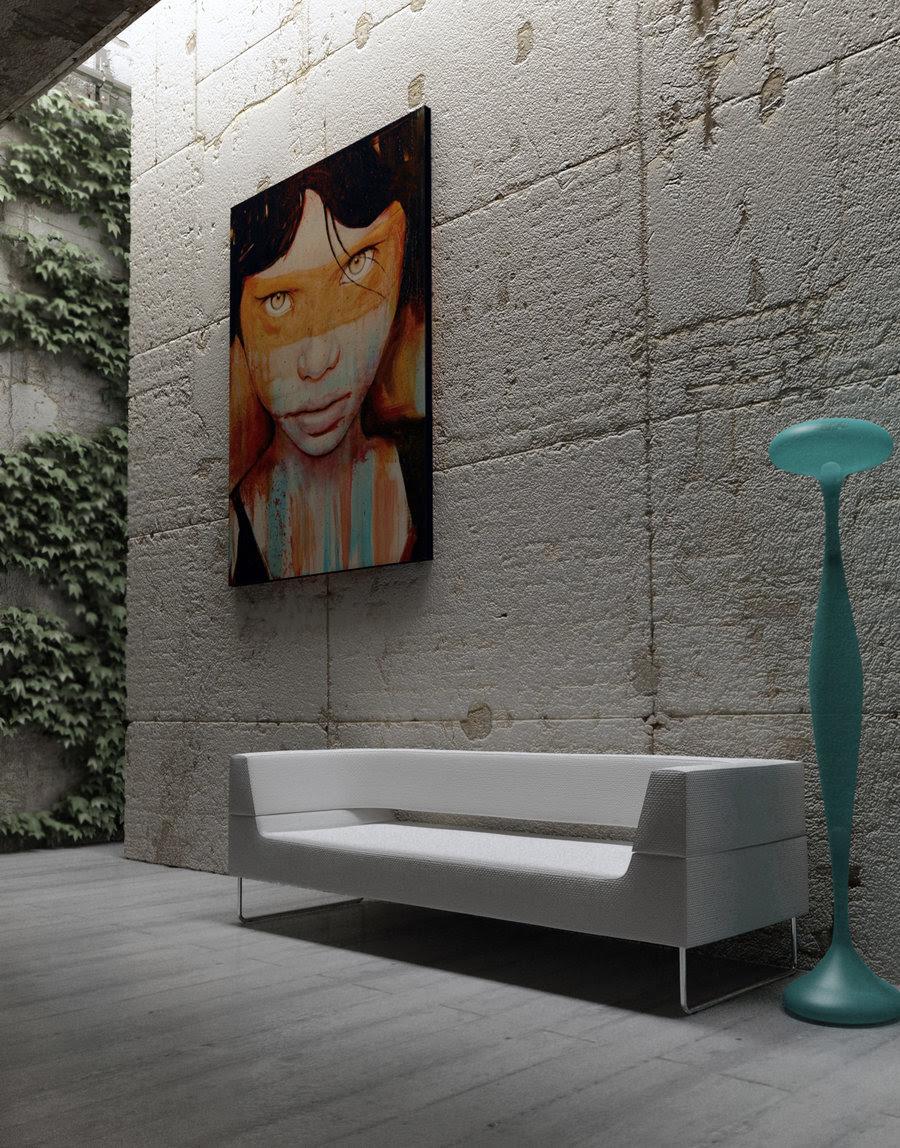 Moody Melancholic Interiors