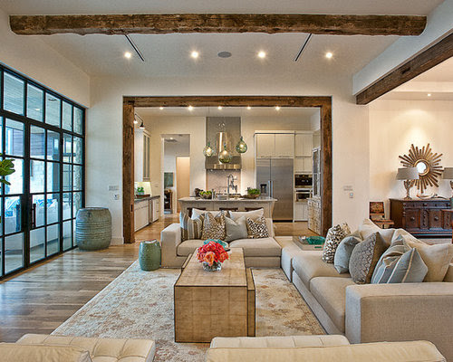 Open Concept Living Room Kitchen Home Design Ideas ...