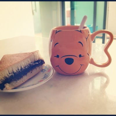 Pooh says MORNING! ☀ (Taken with Instagram)